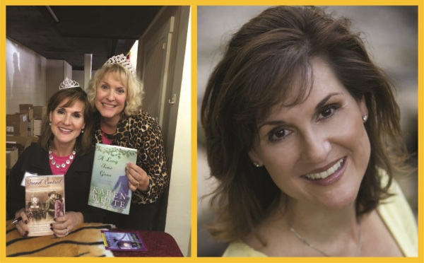 Lft: Karen and I posing with 2 of her books. (And I brought home a 3rd…) Rt: One of her many formal author photos—with 22 books to her credit, you can be sure she's more than a pretty face…